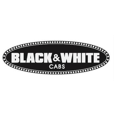 Black & White Cabs  logo