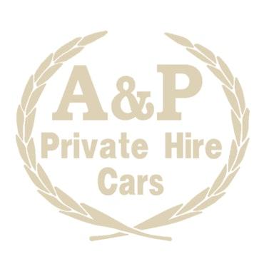 A&P Private Hire Cars logo