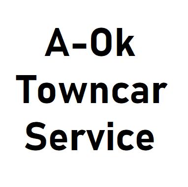 A-Ok Towncar Service logo
