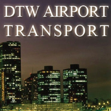 DTW Airport Transport logo