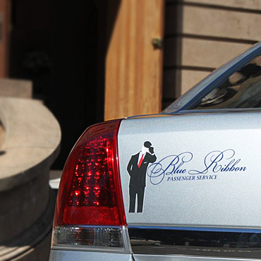 Blue Ribbon Limousines logo