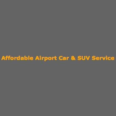Affordable Airport Car Service