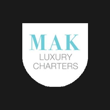 MAK Luxury Charters logo