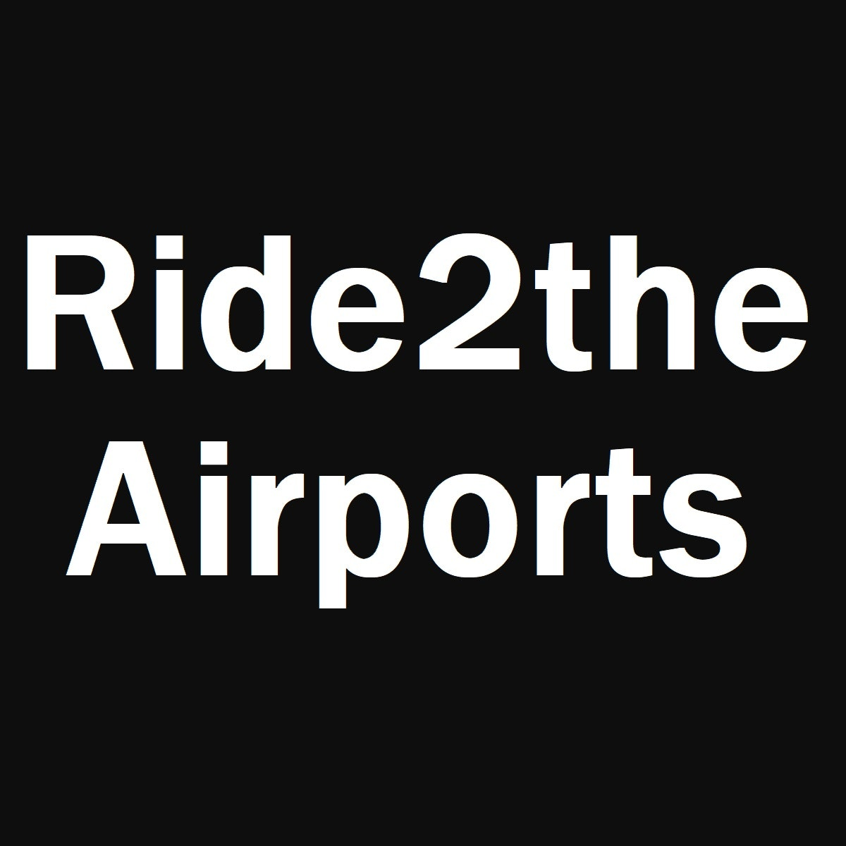 Ride2TheAirports logo