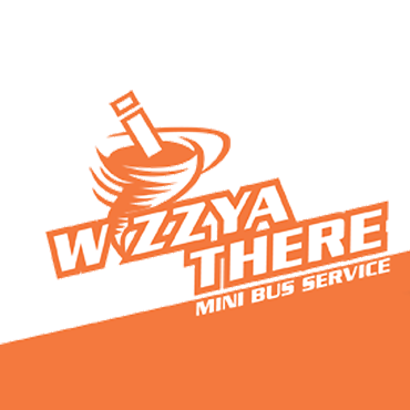 Wizzya There Mini Bus Service logo