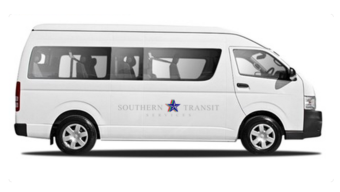 Southern Transit Services vehicle 1