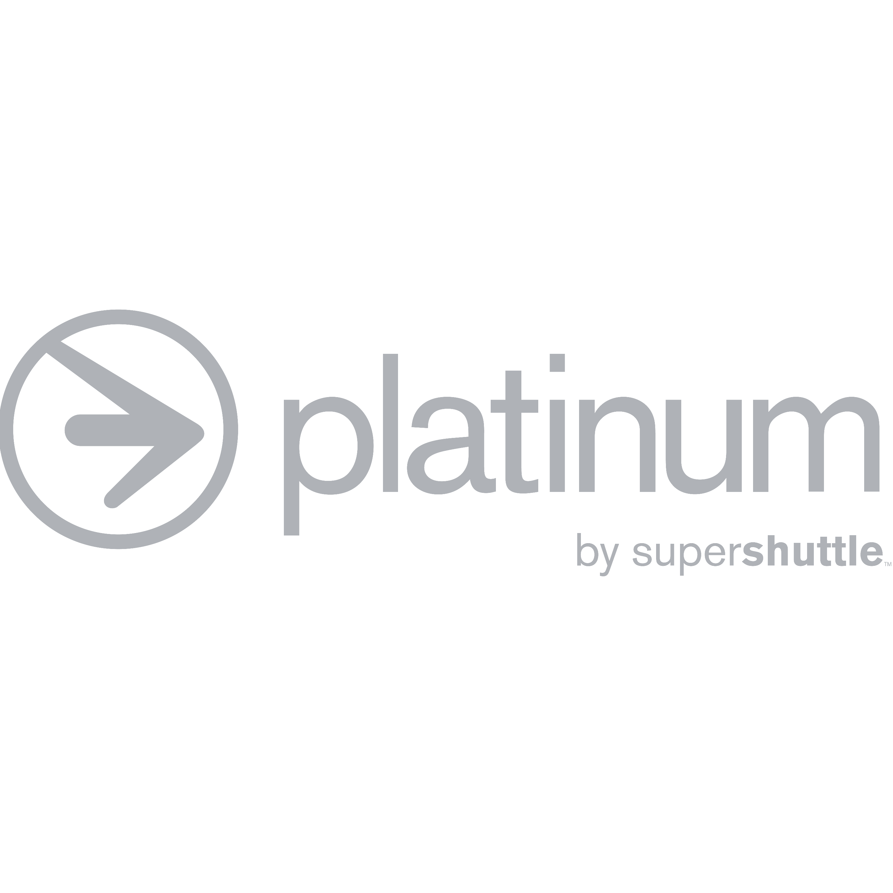 Platinum by Super Shuttle logo