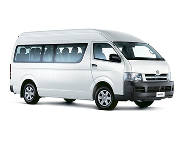 Bob's Airport Shuttle & Mini Bus Hire vehicle 1