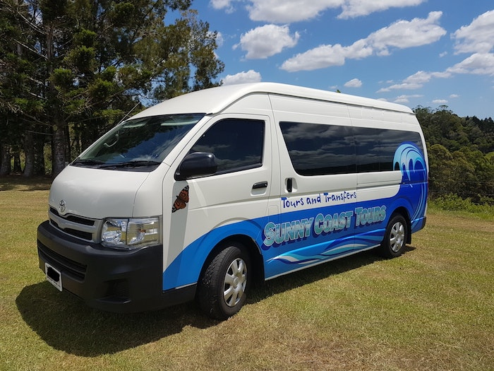 Sunny Coast Tours vehicle 1