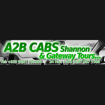 A2B Cabs Shannon logo