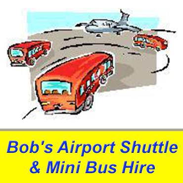 Bob's Airport Shuttle & Mini Bus Hire logo