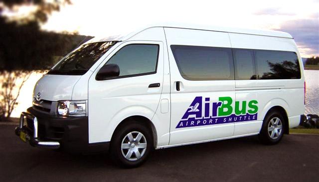 Airbus Airport Shuttle vehicle 1