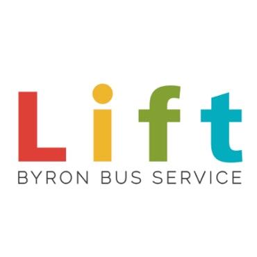 Lift Byron Bus Service logo