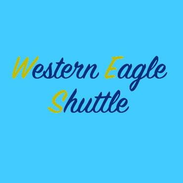 Western Eagle Shuttle logo