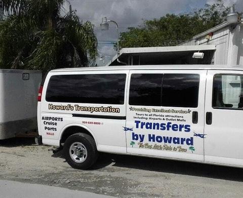 Howard's Ground Transportation vehicle 1