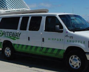 GO Airport Shuttle vehicle 1