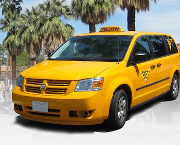Yellow Cab of the Desert Inc vehicle 1