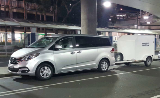 Ned's Airport Shuttle Service vehicle 1