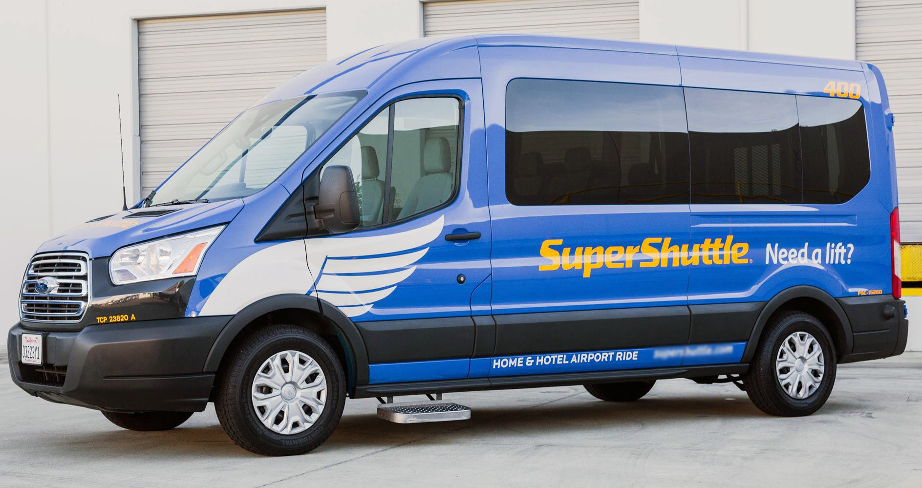 SuperShuttle vehicle 1