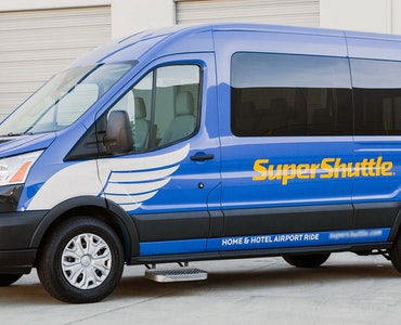 SuperShuttle vehicle 1