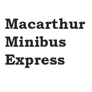 Macarthur Mini Bus Express logo