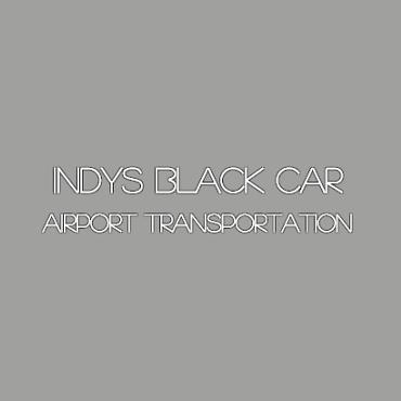 Indy's Black Car Service logo